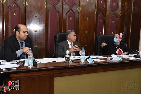 اللجنة البرلمانية المشتركة من الطاقة والبيئة بمجلس النواب (1)