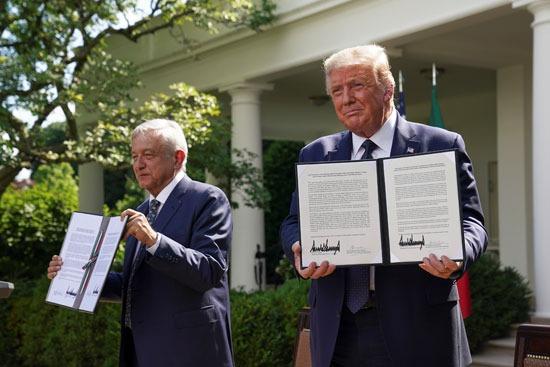 التوقيع على اتفاقية التجارة