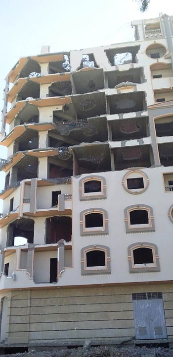 مخالفات البناء تطيح بأبراج الأحلام فى المحافظات (6)