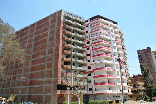 مخالفات البناء تطيح بأبراج الأحلام فى المحافظات (1)