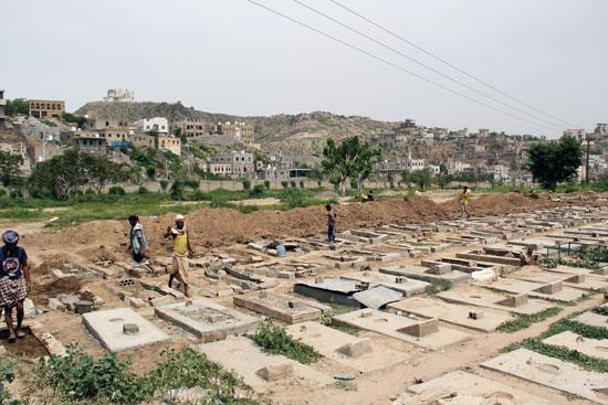 المقابر الجماعية فى اليمن