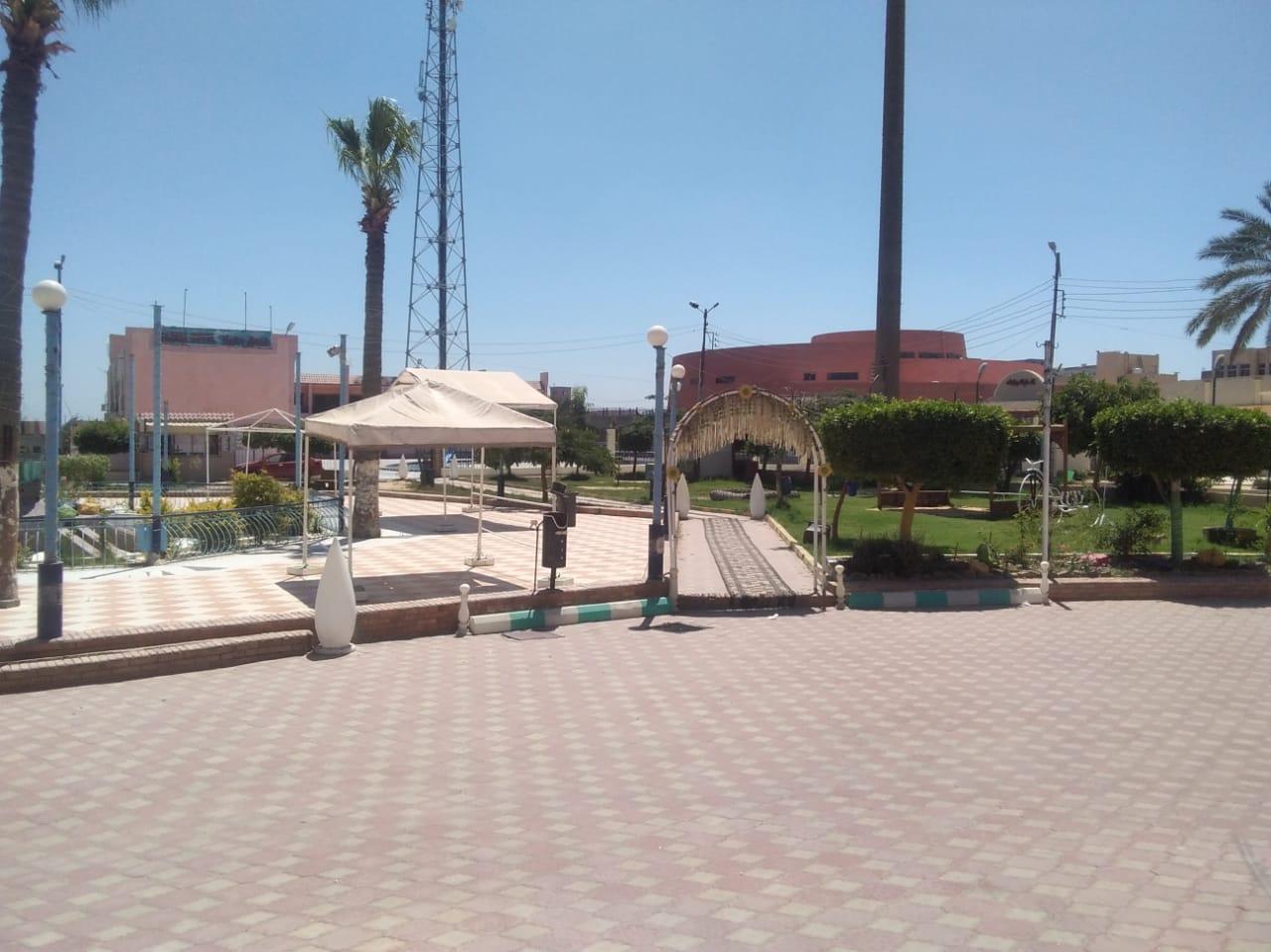 خلو حدائق ومتنزهات كفر الشيخ من المواطنين (2)