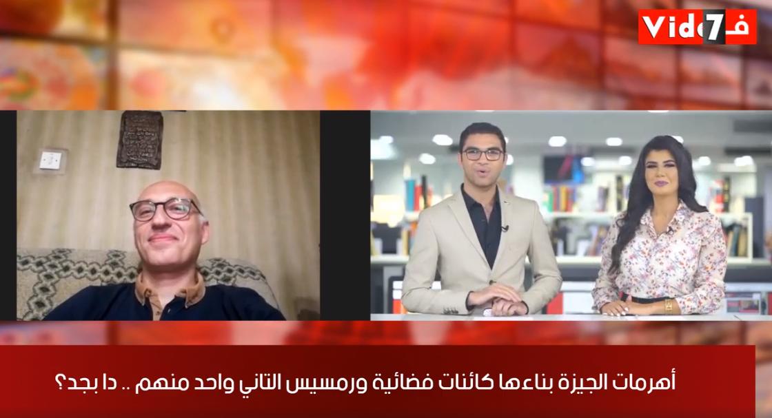 تغطية خاصة من تلفزيون اليوم السابع عن الأهرمات
