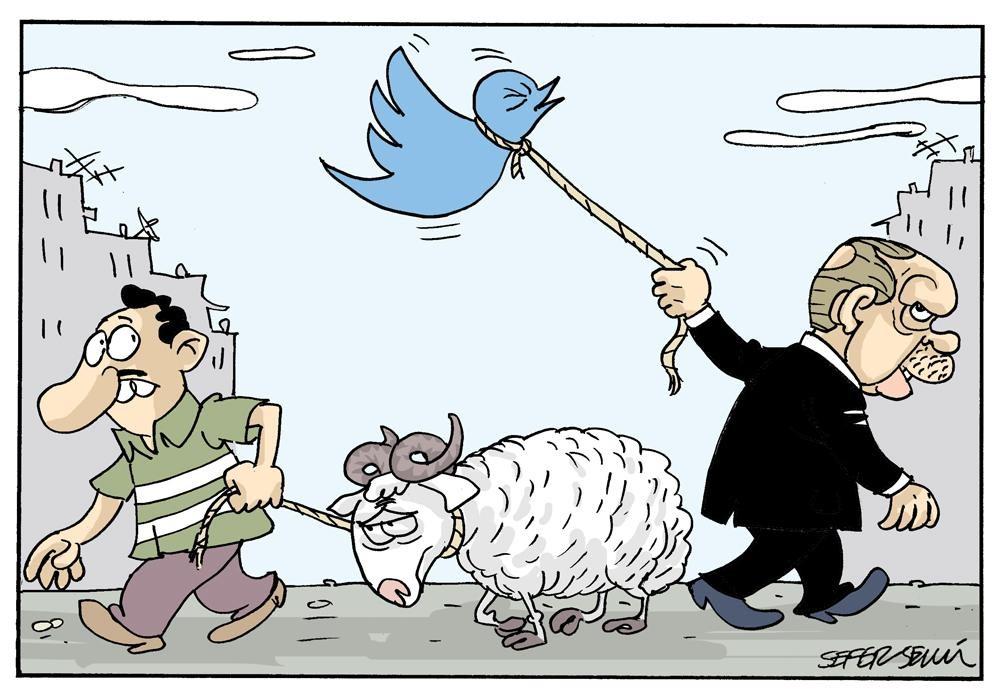 كاريكاتير تركي