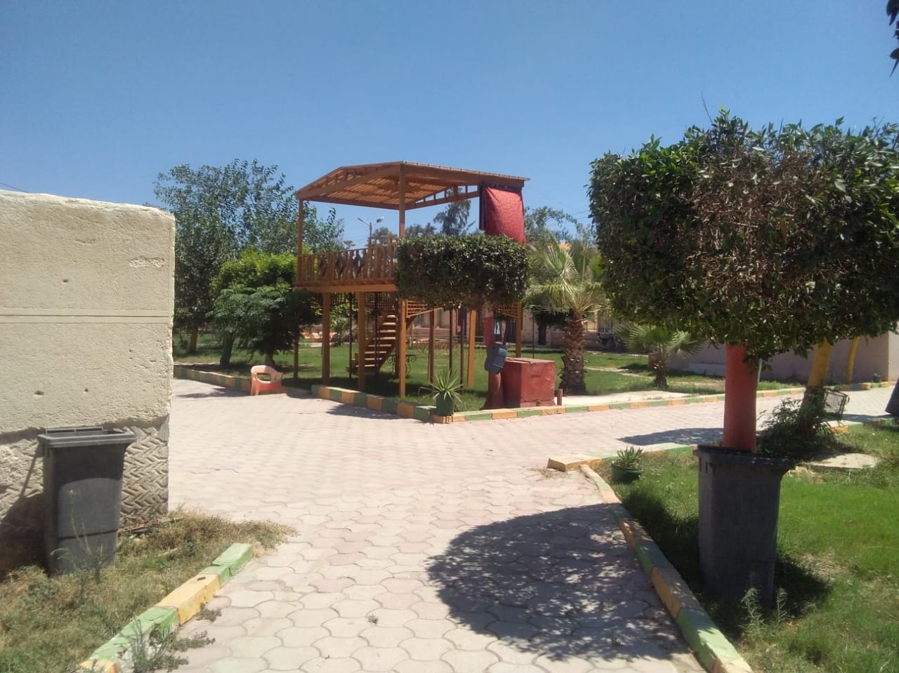 خلو حدائق ومتنزهات كفر الشيخ من المواطنين (7)