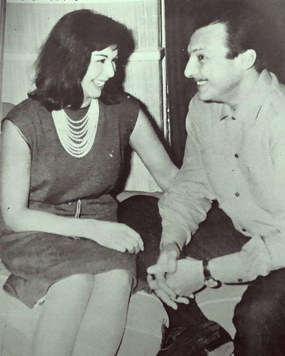 هزار رشدى اباظة وسامية جمال