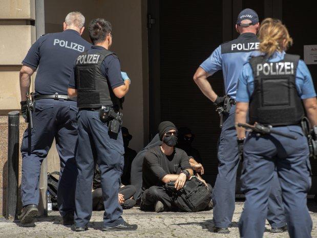 مظاهرات ألمانية