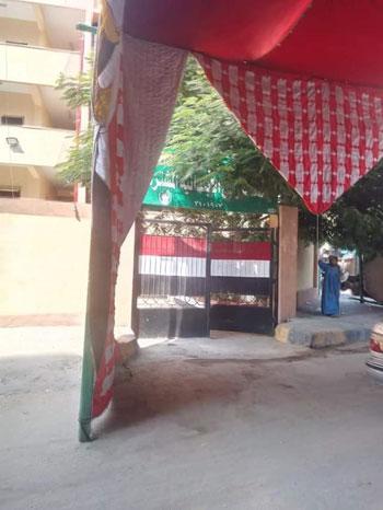 الأعلام تزين المقار الانتخابية (3)