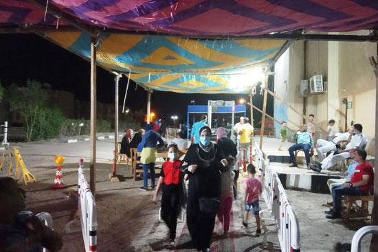 زيادة الإقبال على لجان شرم الشيخ  (2)