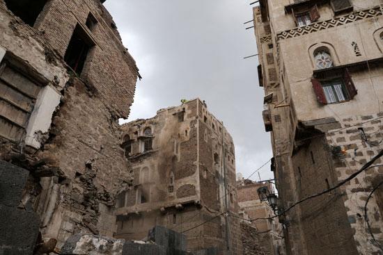 المنازل المتهدمة والمتضررة خلال الأسابيع الماضية
