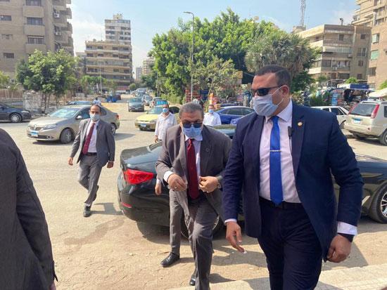 محمد سعفان وزير القوى العاملة يشارك فى انتخابات مجلس الشيوخ (3)