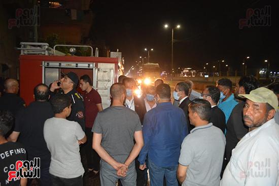 محافظ-الغربية-يتفقد-حريقا-بأحد-مراكز-الطب-النفسى-فى-طنطا-(2)