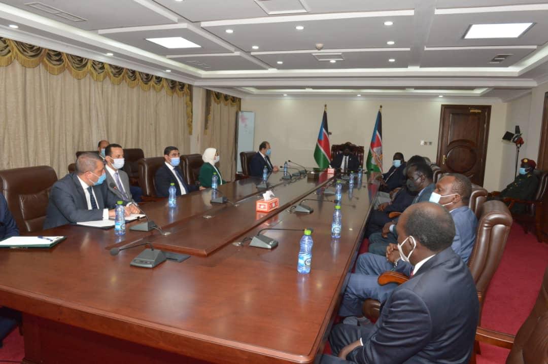 رئيس المخابرات فى جنوب السودان