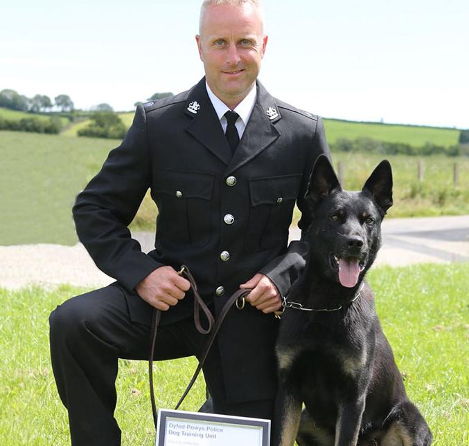 الكلب ماكس والضابط بيتر ليلويد