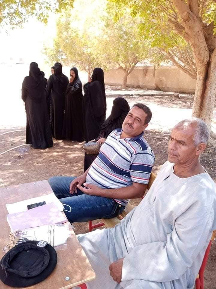 إقبال لسيدات قرى أسوان على اللجان (3)