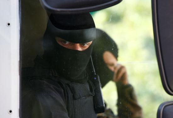 قوات الأمن فى بيلاروسيا
