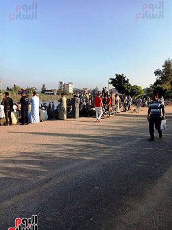 لقطات جديدة من موقع حادث معدية الموت (2)