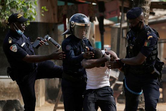 اشتباكات فى ساحل العاج