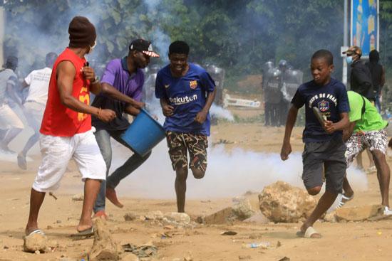 العنف فى ساحل العاج