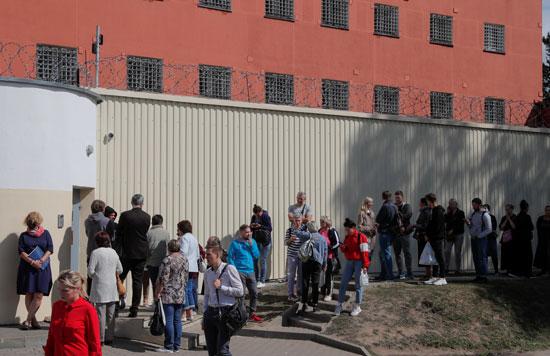 أهالى المحتجزين فى بيلاروسيا