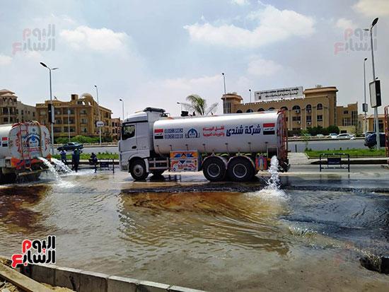 إجراءات مواجهة مخاطر الأمطار والسيول (2)