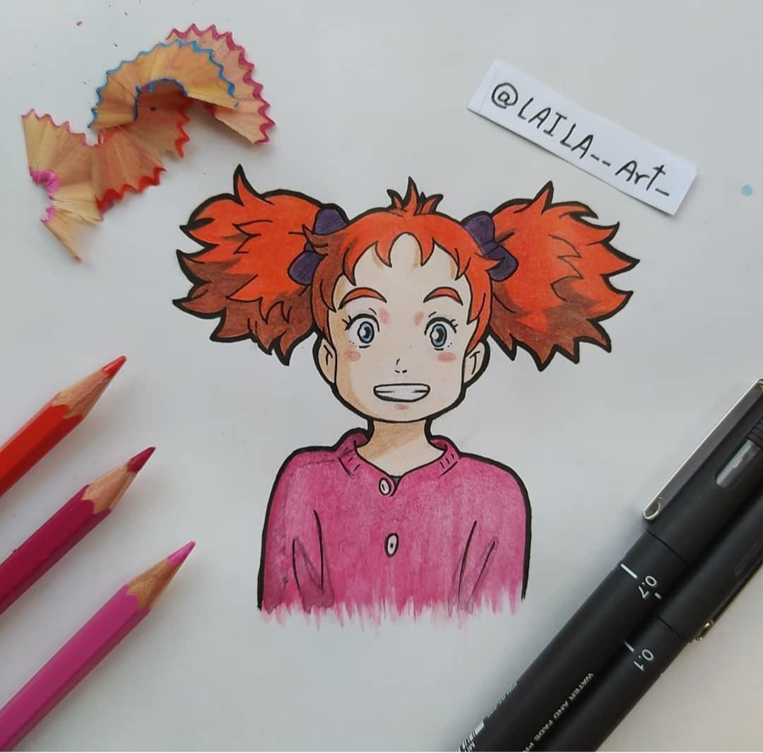الرسم شخصيات الكارتون الأنمي  (2)