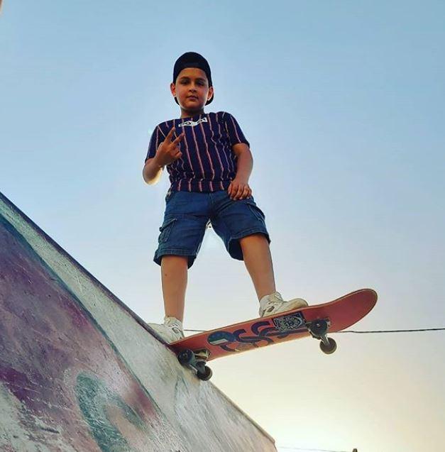 الطفل الفلسطيني عبدالرحمن الشنطي (1)