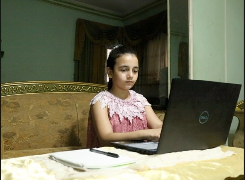 أصغر صحفية فى مصر  (2)