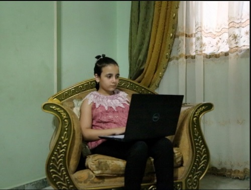 أصغر صحفية فى مصر  (7)