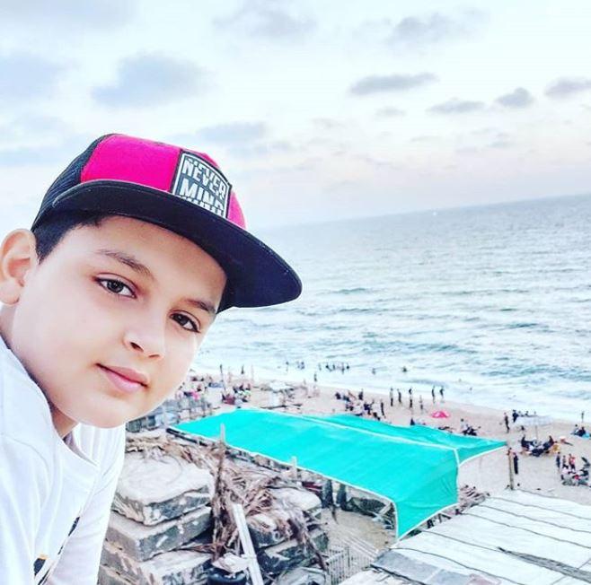 الطفل الفلسطيني عبدالرحمن الشنطي (3)