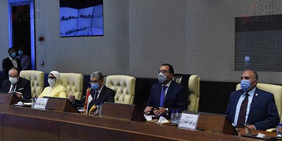 رئيس وزراء السودان يستقبل الدكتور مصطفى مدبولى (5)