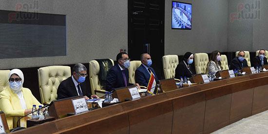 رئيس وزراء السودان يستقبل الدكتور مصطفى مدبولى (9)
