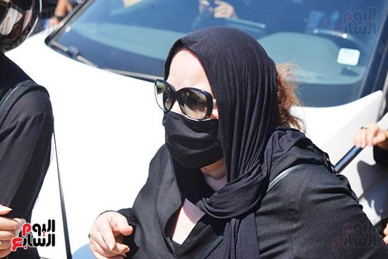 جنازة الفنانة شويكار (30)