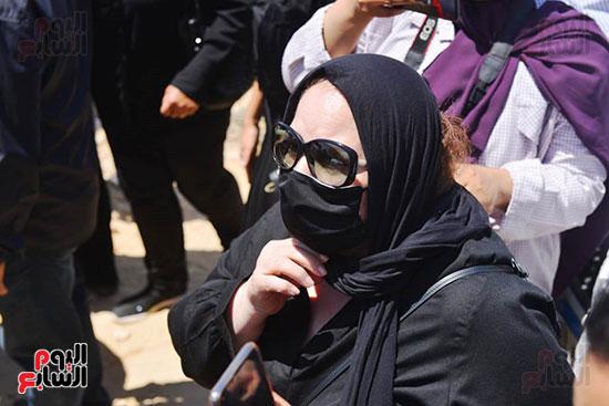 جنازة الفنانة شويكار (29)