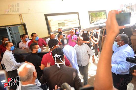صورة خروج جثمان شويكار