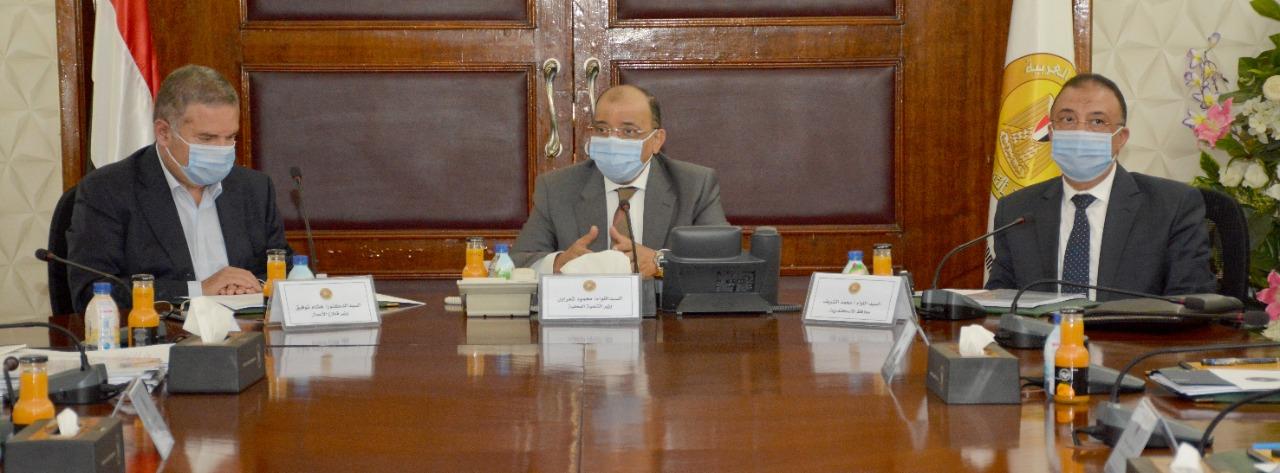 وزيرا قطاع الاعمال والتنمية المحلية (2)