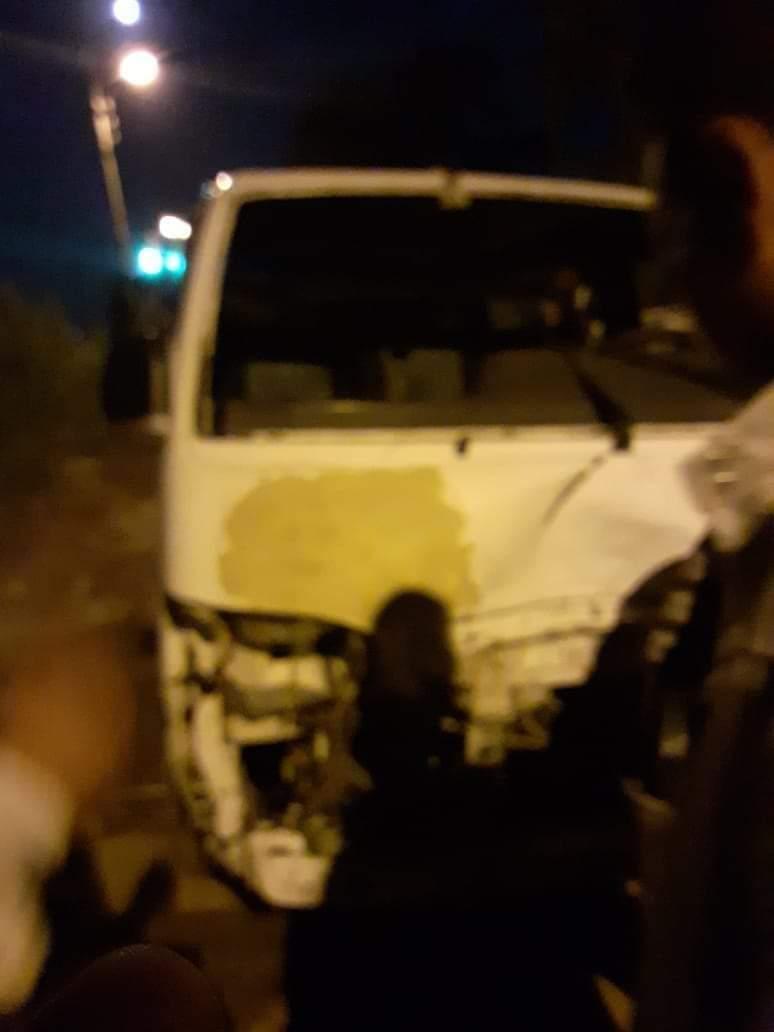 اثار الحادث