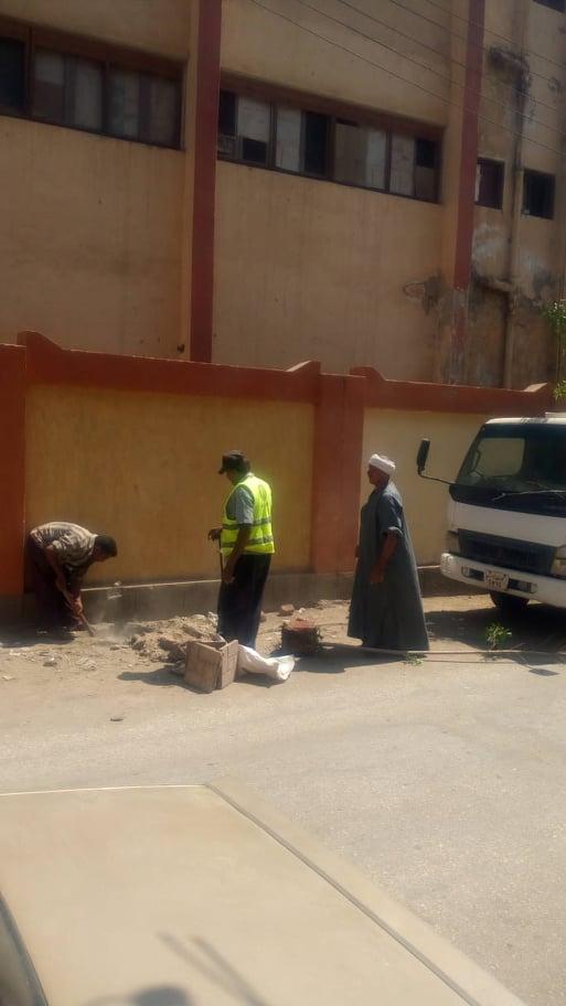 حملة نظافة وتجميل بحى غرب اسيوط (8)