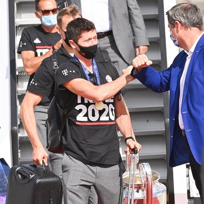 روبرت ليفاندوفسكى هداف دوري أبطال أوروبا