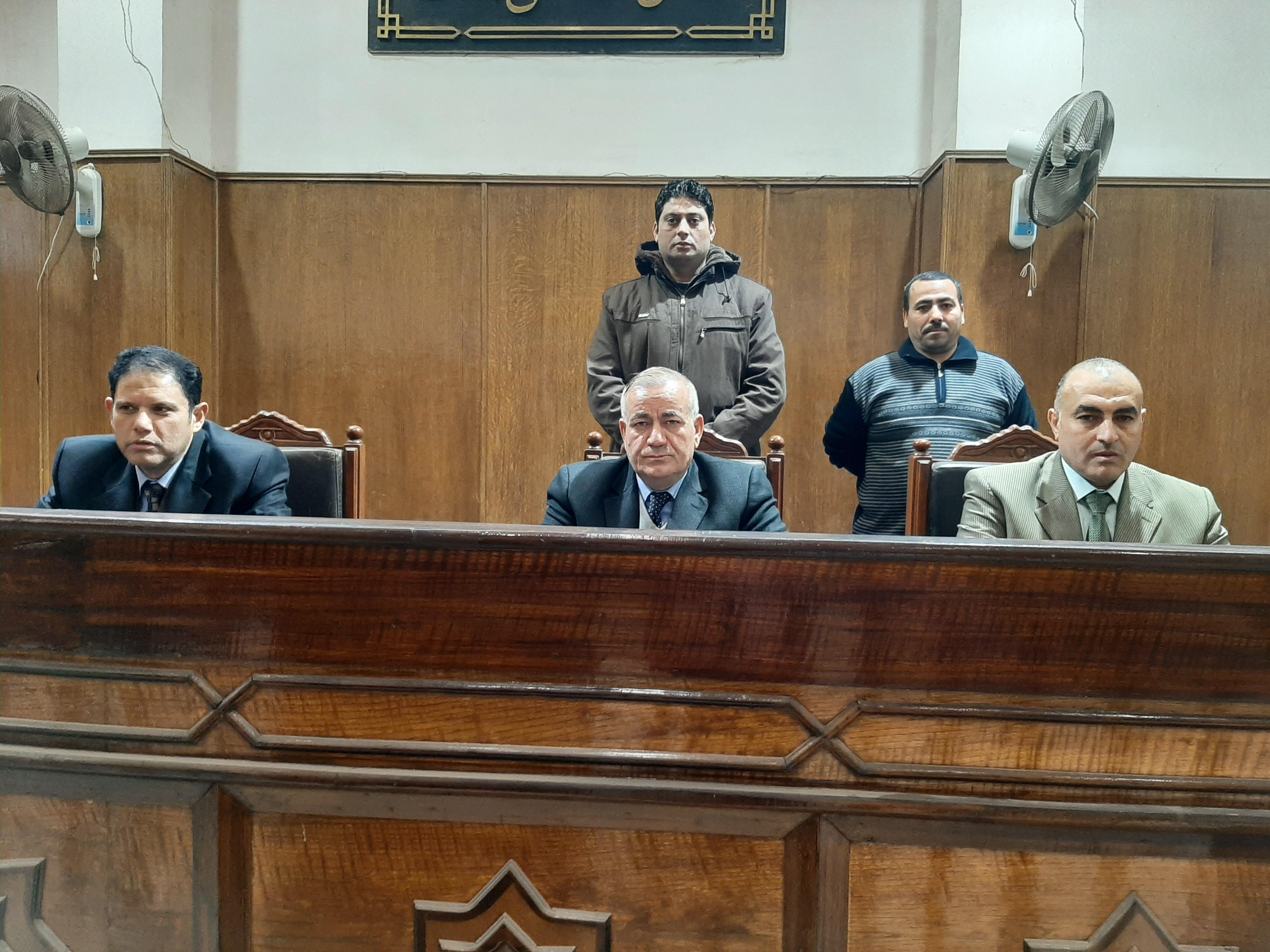 المستشار أحمد الجمل، رئيس محكمة جنايات الزقازيق