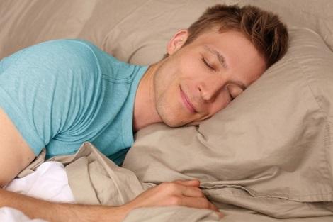 السعادة في النوم