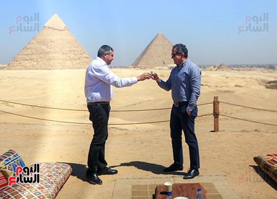 جولة وزير الآثار ورئيس هيئة السياحة  (26)