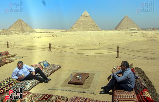 جولة وزير الآثار ورئيس هيئة السياحة  (25)