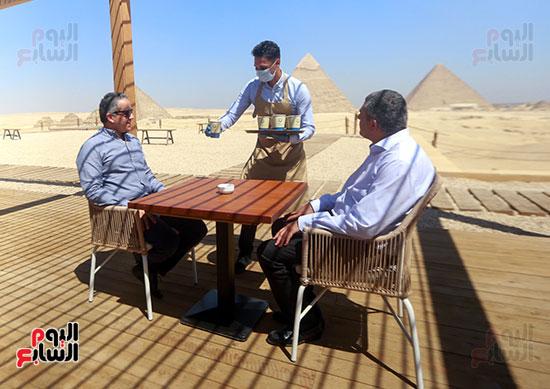 جولة وزير الآثار ورئيس هيئة السياحة  (22)