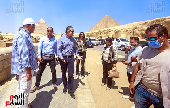 جولة وزير الآثار ورئيس هيئة السياحة  (31)