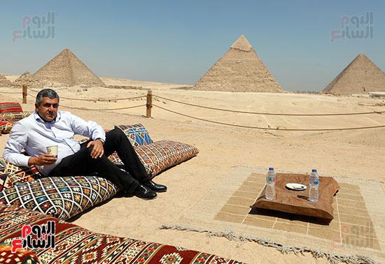 جولة وزير الآثار ورئيس هيئة السياحة   (35)