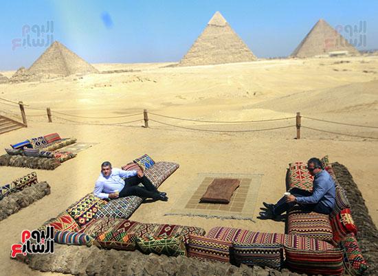 جولة وزير الآثار ورئيس هيئة السياحة   (24)