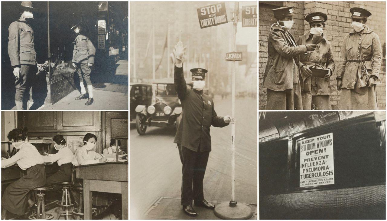 اشكال الحياة فى انفلونزا 1918  (2)