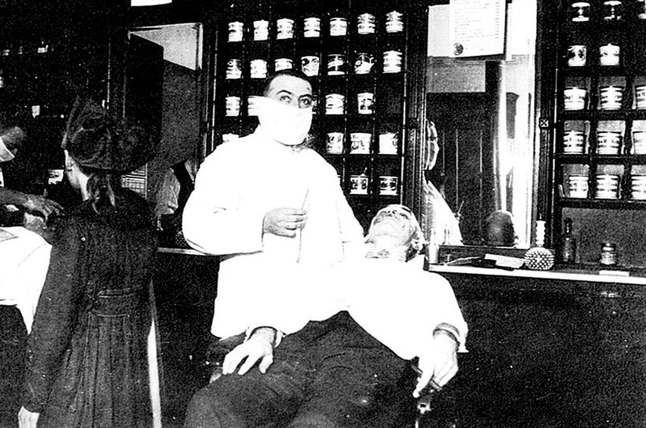 اشكال الحياة فى انفلونزا 1918  (4)