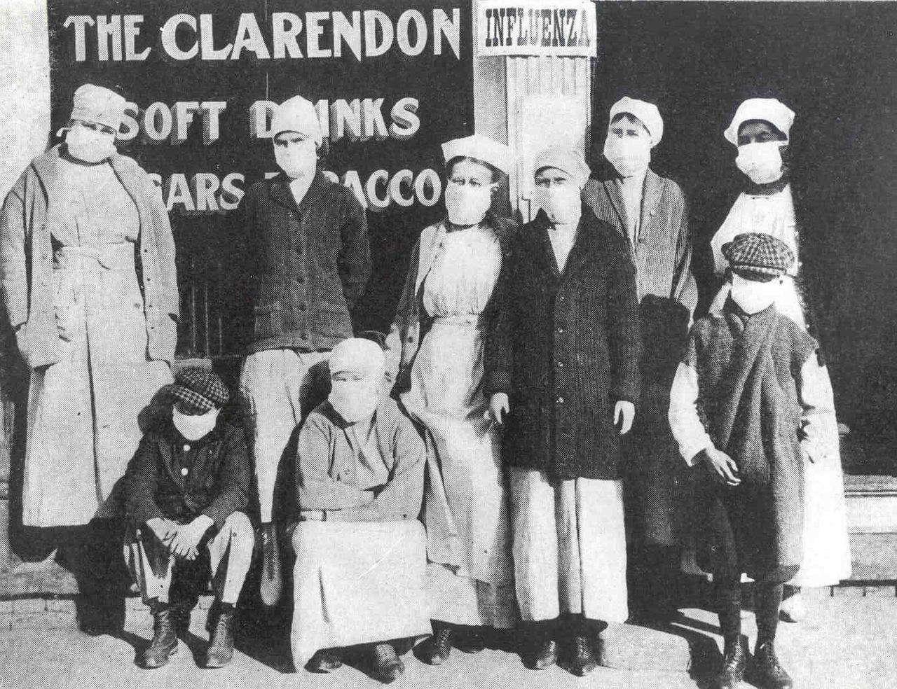 اشكال الحياة فى انفلونزا 1918  (1)